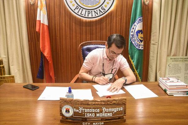 Manila City Mayor Isko Moreno / Manila PIO